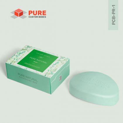 Wholesale Custom Printed Soap Boxes