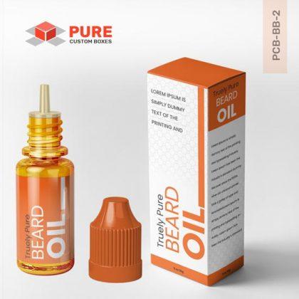 Wholesale Custom Beard Oil Boxes