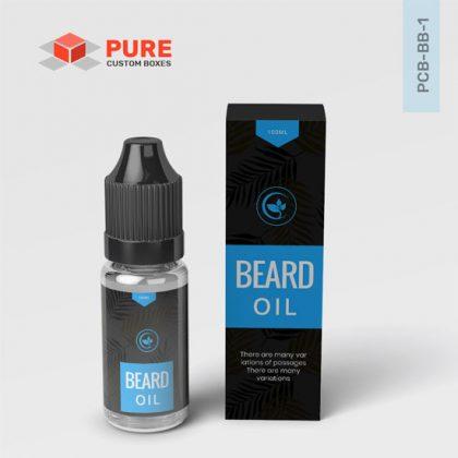 Custom Beard Oil Packaging Wholesale