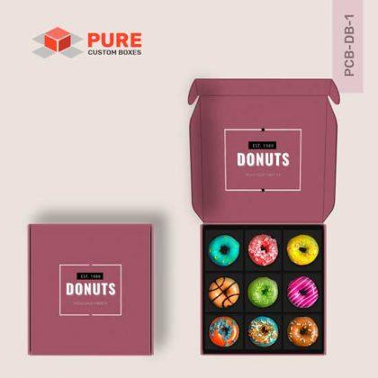 Wholesale Custom Donut Boxes