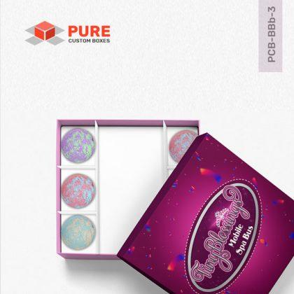 Wholesale Custom Bath Bomb Boxes