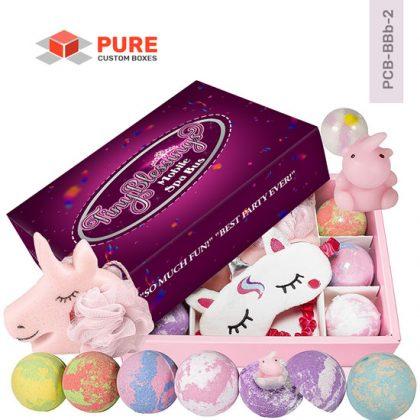 Wholesale Custom Bath Bomb Packaging Boxes