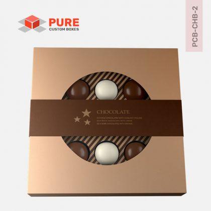 Custom Printed Chocolate Packaging Boxes