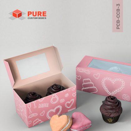 Custom Cupcake Boxes Packaging Uk Wholesale