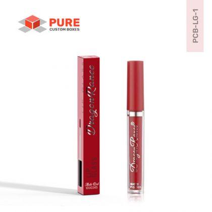 Wholesale Custom Lip Gloss Boxes Packaging Uk