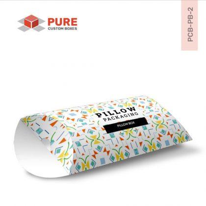 Wholesale Custom Pillow Boxes Packaging Uk